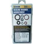 141 PC Sealing Washer Assortment  ITEM 67552